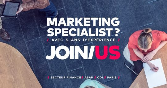 Annonce emploi marketing Genius